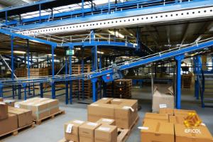 Embalaje de mercancías en el proceso logístico